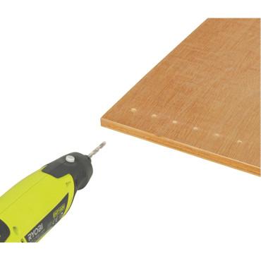 Ryobi Multitool Rotationswerkzeug EHT 150 V inkl. Zubehör 115tlg – Bild 3