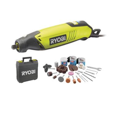 Ryobi Multitool Rotationswerkzeug EHT 150 V inkl. Zubehör 115tlg – Bild 1