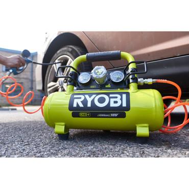 Ryobi ONE+ 18V Akku Kompressor R18AC-0 – Bild 1