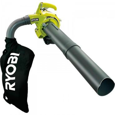Ryobi Benzin Motor-Gebläse / Laubhäckselsauger / Laubsauger RBV 26 B – Bild 1