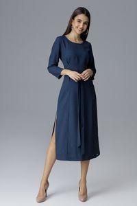 FIGL Damen Kleid Navy