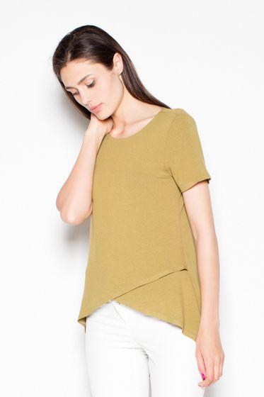 Venaton Damen Bluse Grün