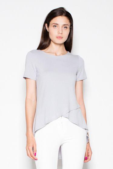 Venaton Damen Bluse Grau