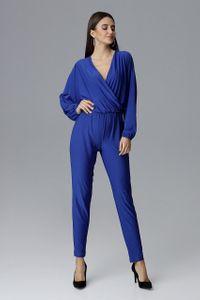 FIGL Damen Jumpsuits Overall Saphir