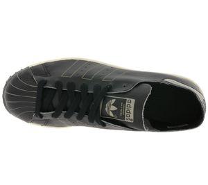 adidas Originals Damen-Schuhe Superstar 80s Decon angesagte Sneaker Schwarz – Bild 6