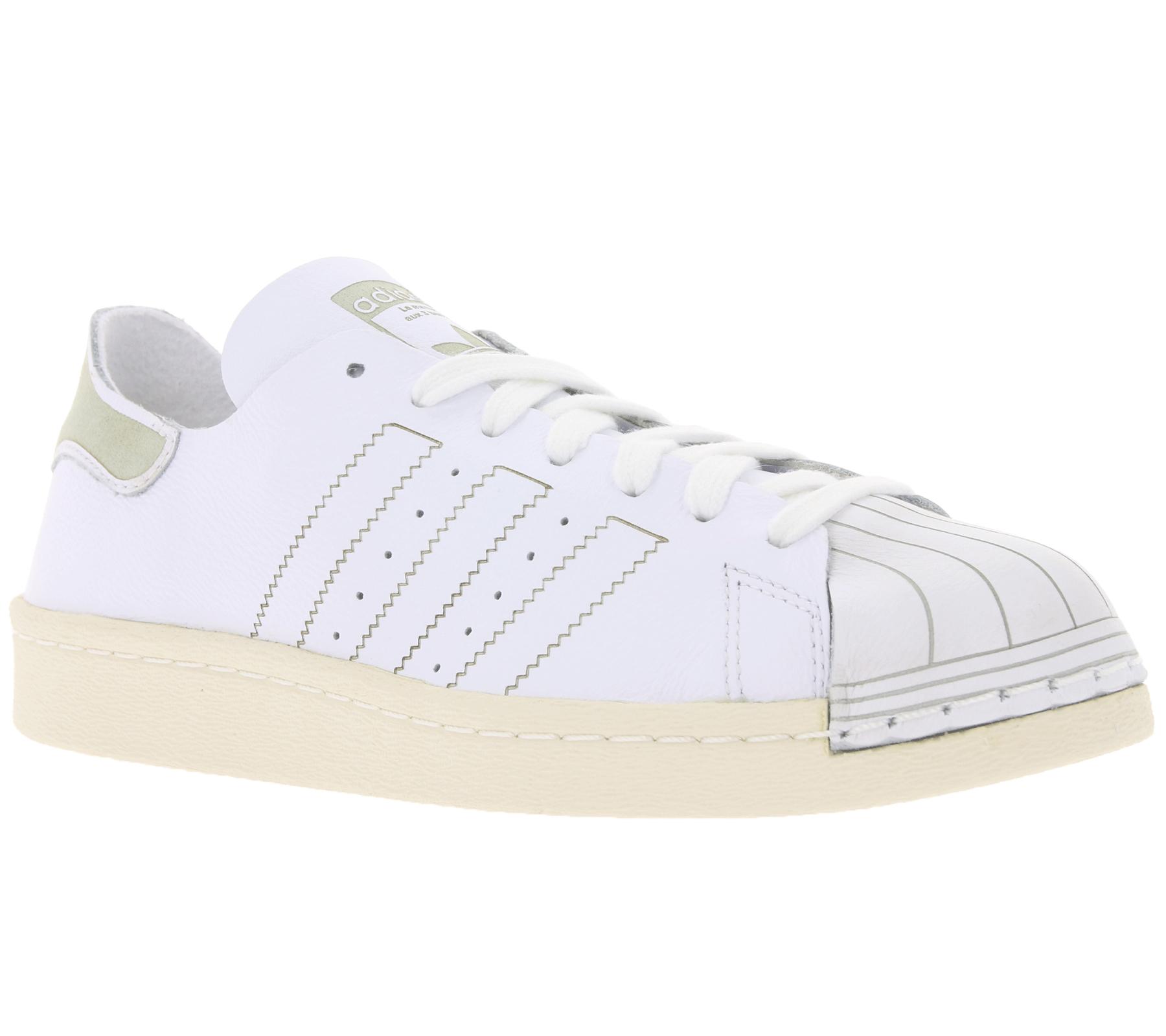 5a813ef4639f6d adidas Originals Damen-Sneaker Superstar 80s Decon coole Turnschuhe Weiß