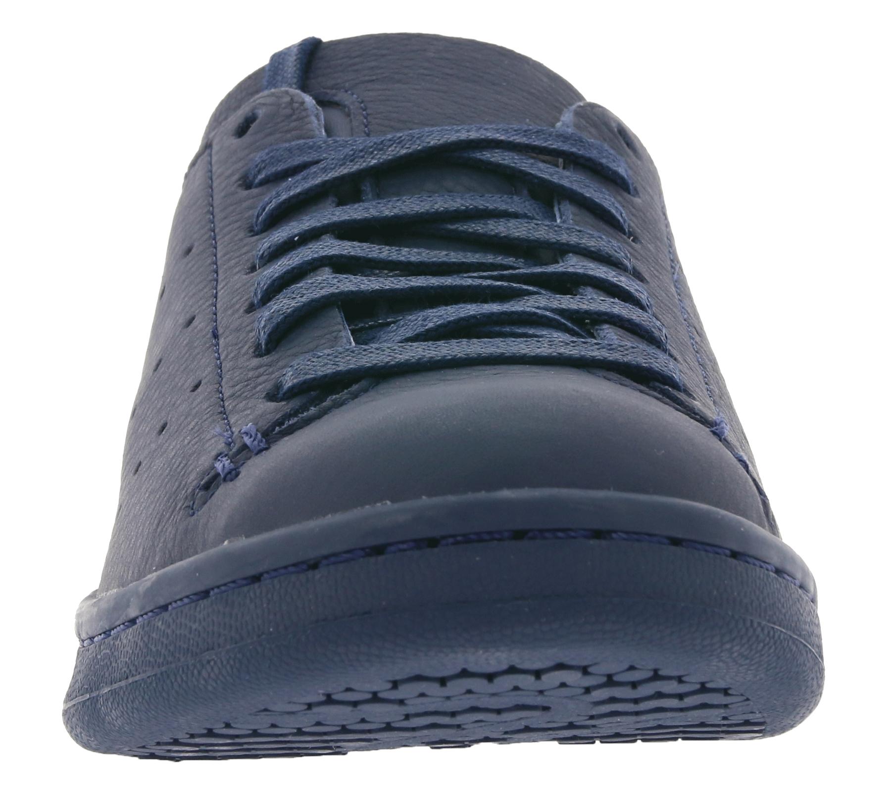 104303cf2a1d43 adidas Damen-Sneaker Originals Stan Smith Lea Sock Echtleder-Schuhe Blau –  Bild 3