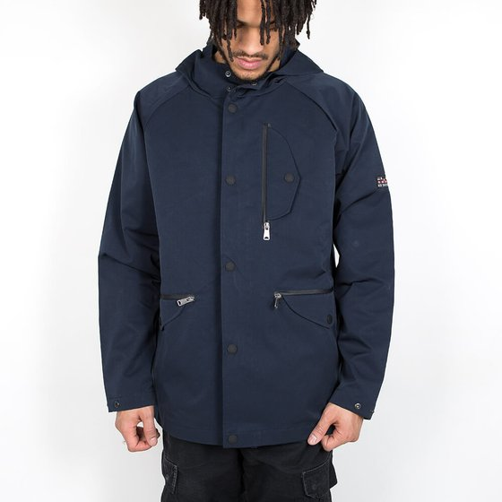 Ben Sherman Sharp Hooded Jacket - Navy