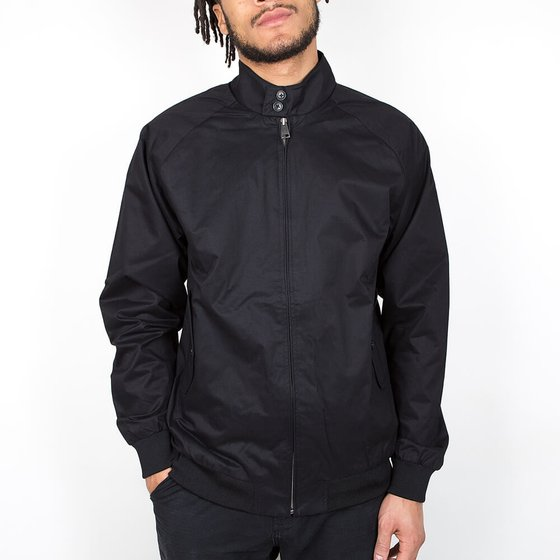 Ben Sherman New Core Harrington - True Black