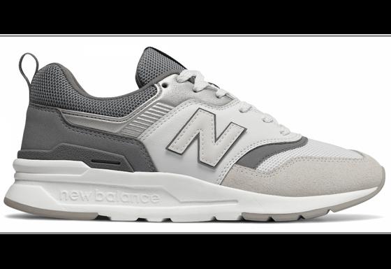 New Balance Schuhe stylische Damen Sneaker CW997 Grau
