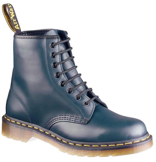 Dr. Martens 1460 Damen Stiefel Blau Schuhe