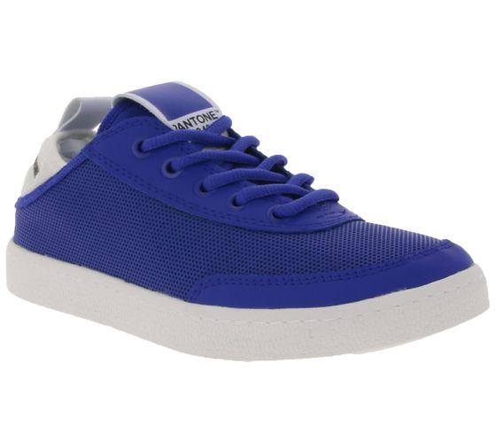 PANTONE UNIVERSE Schuhe schlichte Low Top Sneaker Blau