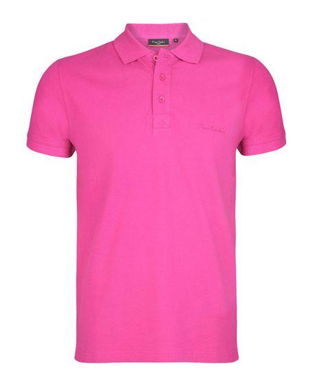 Pierre Cardin Regular Fit Herren Poloshirt Rosa