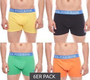 6er Pack U.S. POLO ASSN. Boxershorts moderne Herren Unterwäsche