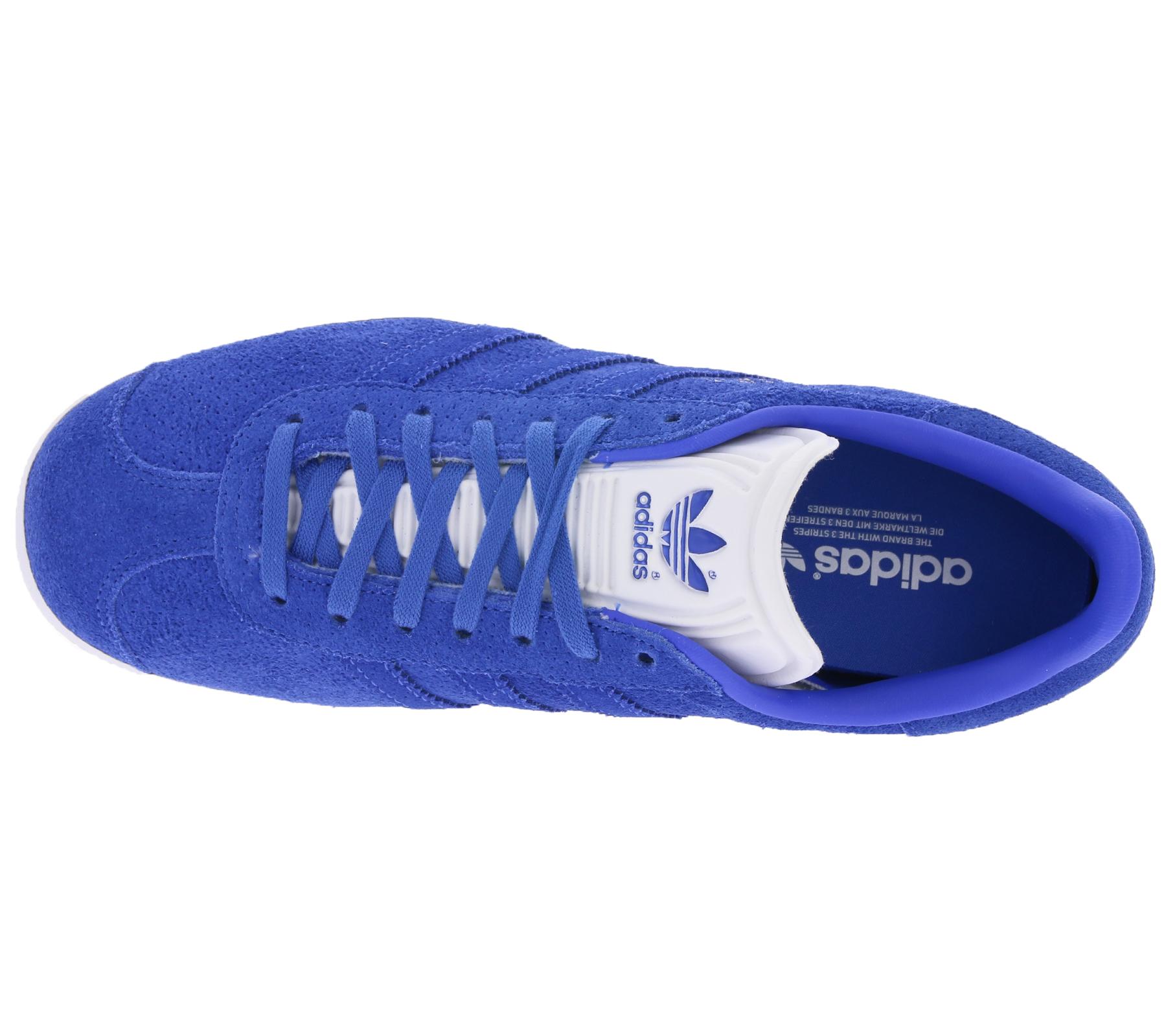 Schuhe Sneaker Originals Blau Adidas Gazelle Damen Coole