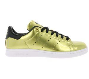 adidas Originals Damen-Schuhe Gold glänzende Damen-Sneaker Stan Smith – Bild 2
