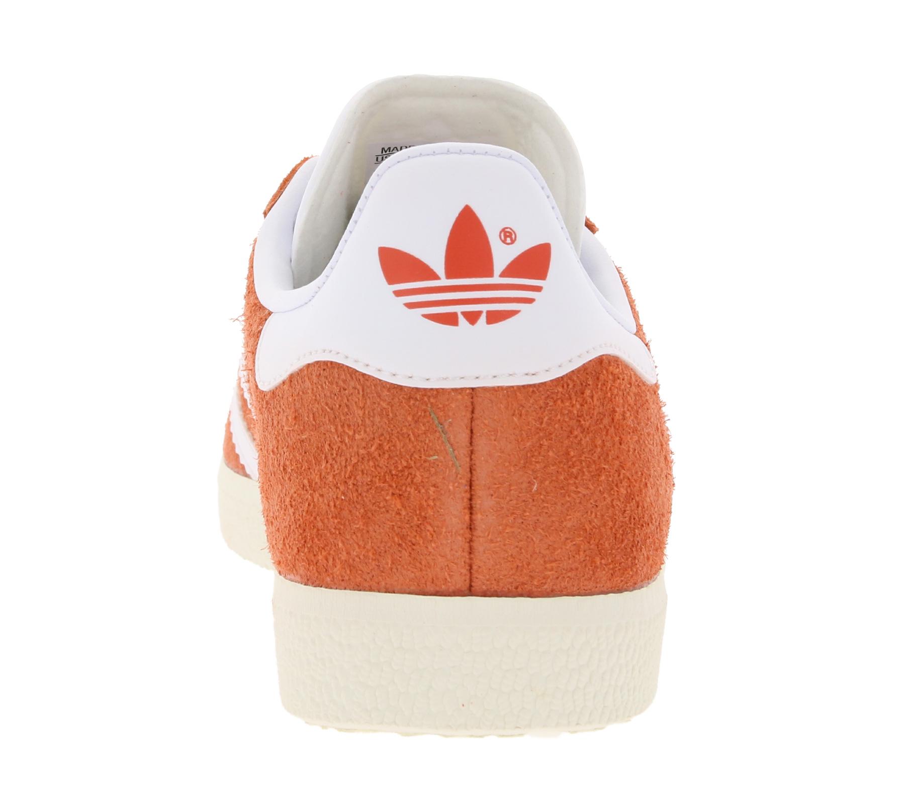adidas lässige Damen Schuhe Originals Gazelle Sneaker Orange