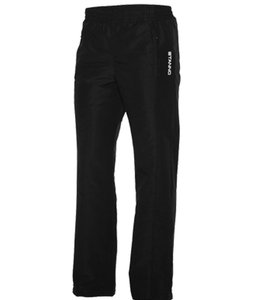 STANNO Sport lockere Kinder Jogginghose Taslan Pant Junior Schwarz