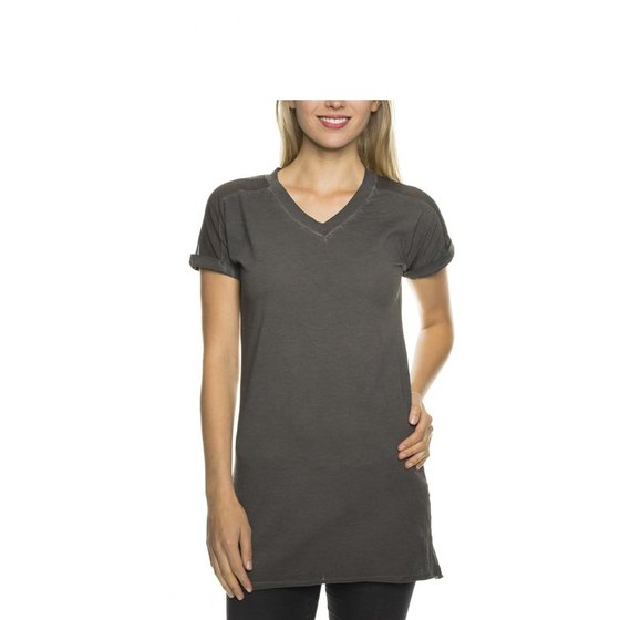 Tazzio Fashion Damen T-Shirt Anthrazit