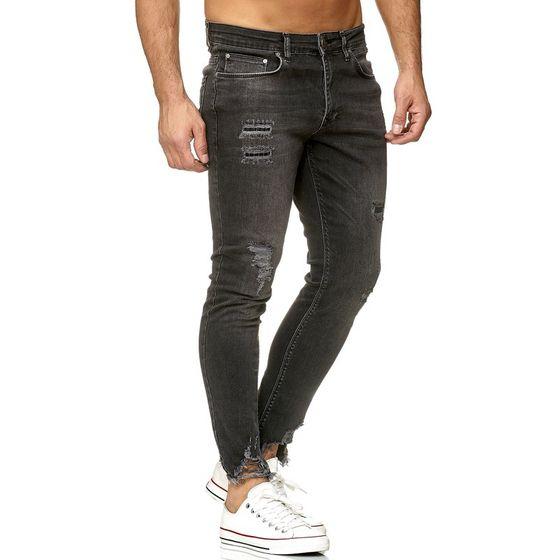 Tazzio Fashion Herren Jeans Schwarz