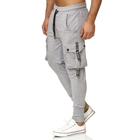Tazzio Fashion Herren Jogginghose Grau