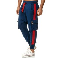 Tazzio Fashion Herren Jogginghose im Haremstil Navy