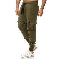 Tazzio Fashion Herren Jogginghose im Haremstil Khaki