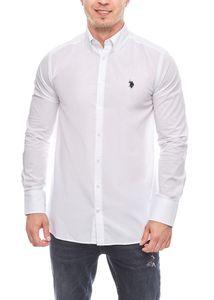 U.S. POLO ASSN. Hemd elegantes Premium Herren Button-Down Shirt – Bild 7
