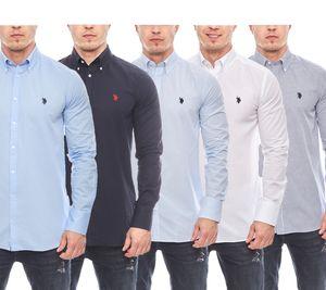 U.S. POLO ASSN. Hemd elegantes Premium Herren Button-Down Shirt