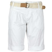 Fresh Made Damen Bermuda Shorts Weiß