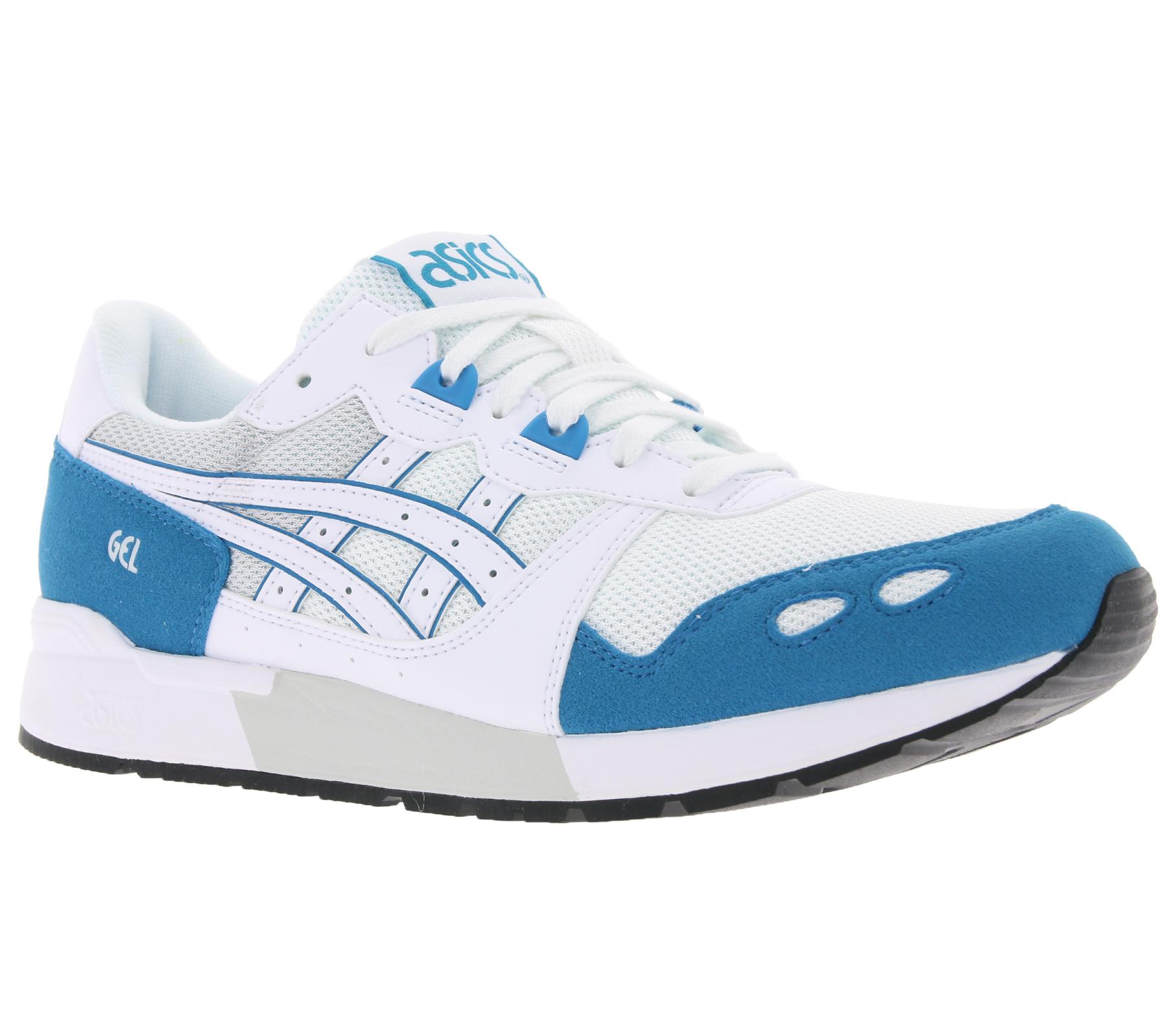 half off 73c25 2bb0b Details zu asics Schuhe trendige Turnschuhe Sneaker Gel-Lyte Freizeitschuhe  Weiß/Blau