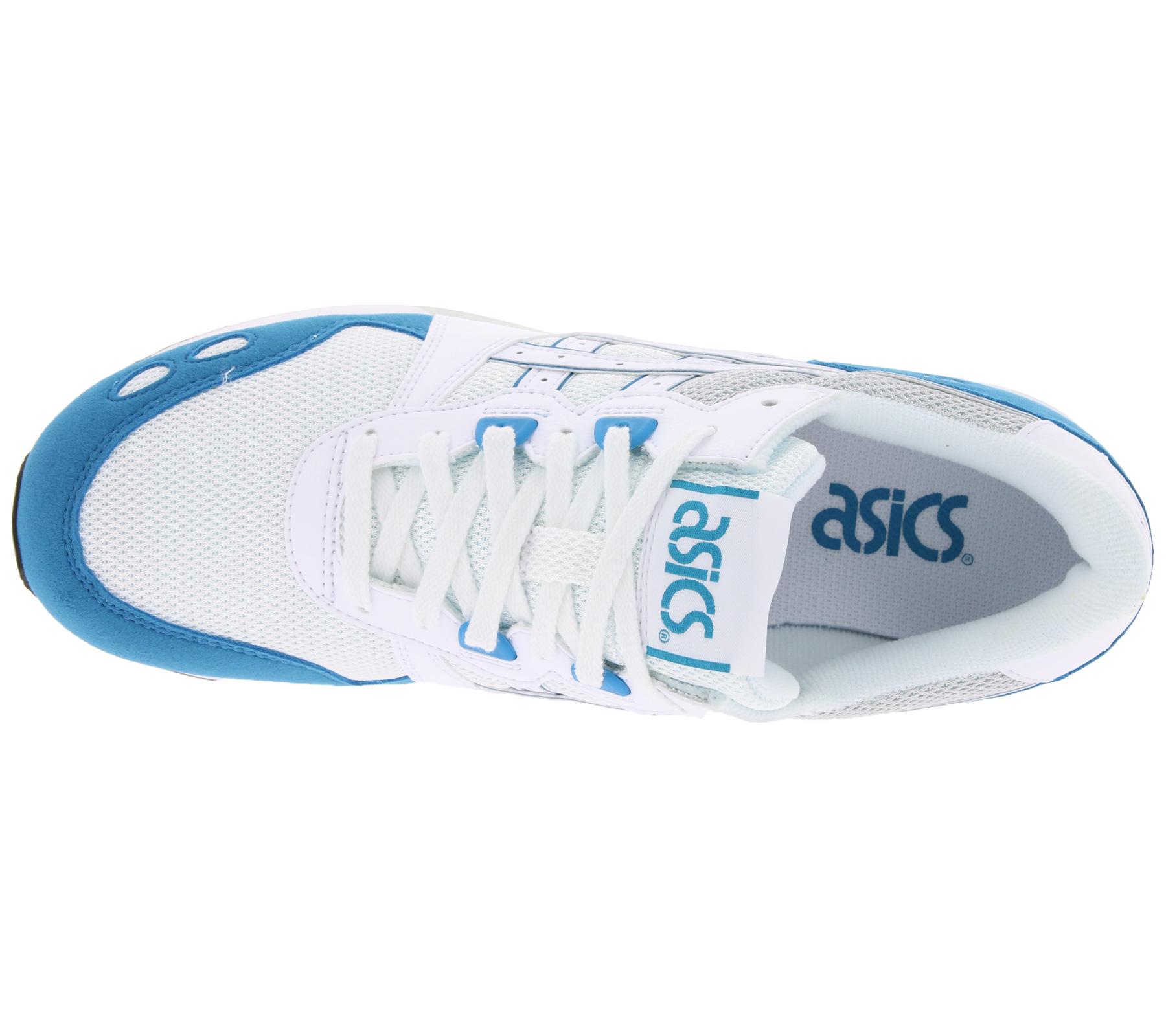 differently ca964 6c97f asics Schuhe trendige Sneaker Gel-Lyte Weiß/Blau