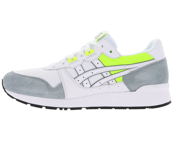asics shoes fashionable sneakers gel lyte white gray