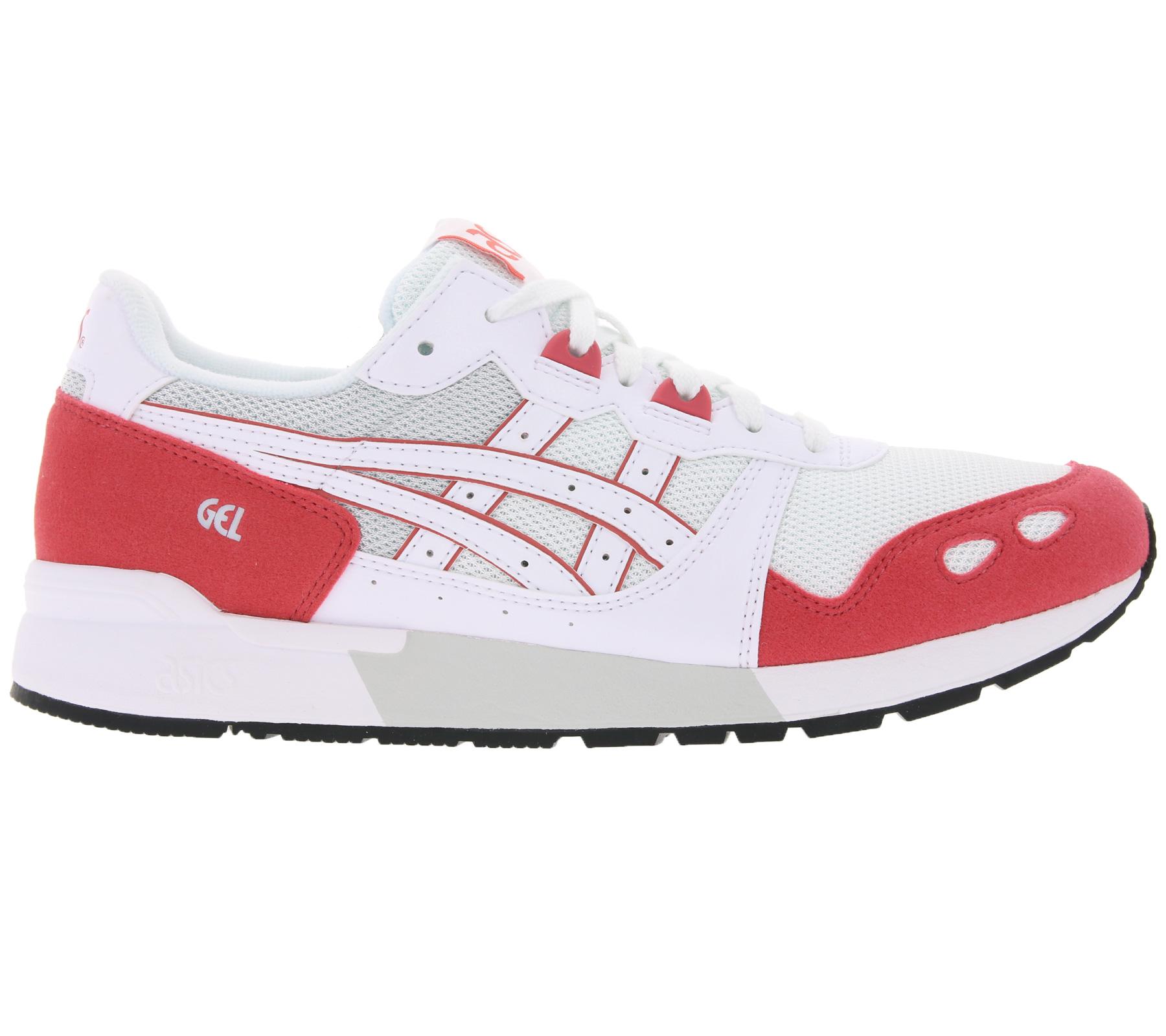 asics Sneaker coole Schuhe Gel-Lyte Weiß/Rot
