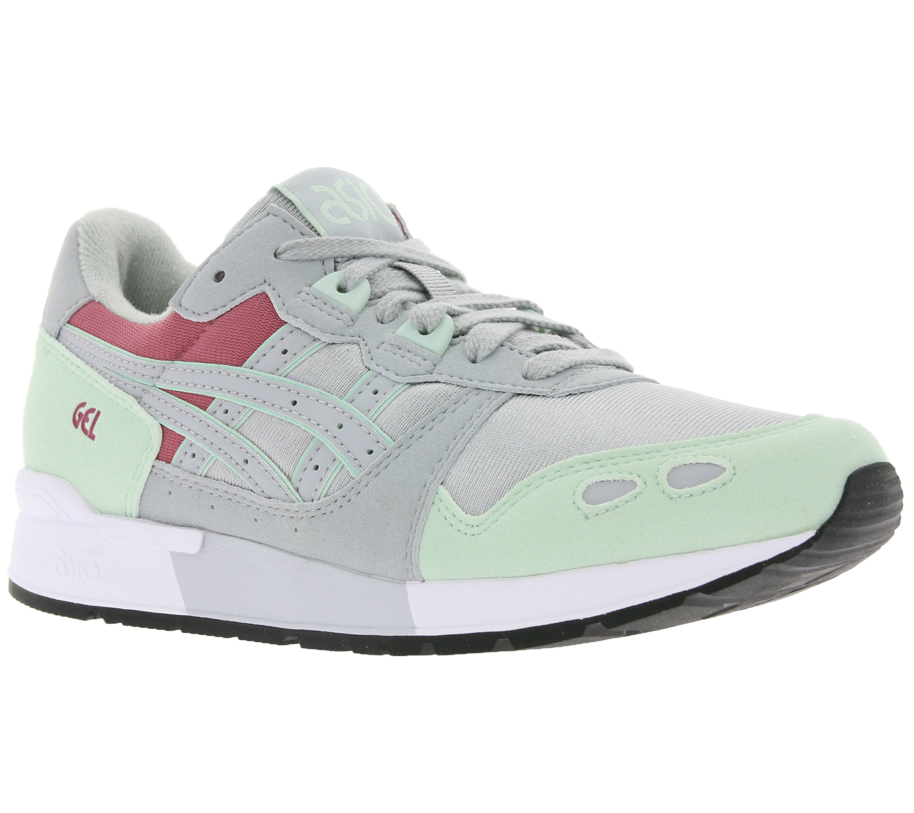 pretty nice 8de7c f935d asics sneakers modern women's sneaker Gel-Lyte Gray / Green | Outlet46.de -  B2B