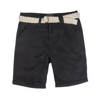 URBAN SURFACE Herren Chino Shorts Schwarz 001