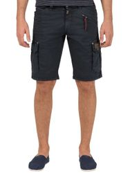 TIMEZONE Ryker Herren Shorts Washed Navy
