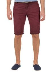 TIMEZONE Cliff Herren Shorts Washed Wine Red