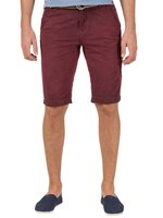 TIMEZONE Cliff Herren Shorts Washed Wine Red 001