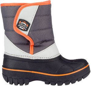 Winter-grip Kinder Schneestiefel Jr Mountain Kid Schwarz/Anthrazit/Hellgrau/Orange