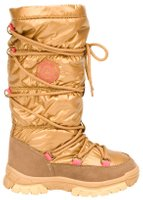 Winter-grip Kinder Schneestiefel Jr Glossed Highness Beige/Braun/Fuchsia