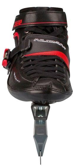 Nijdam High Speed Skate Karbon High Thermoplastic Black  Red