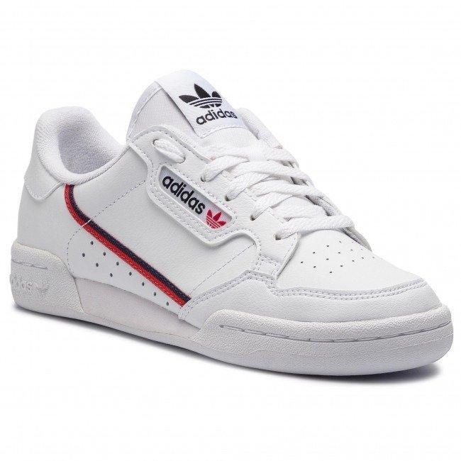 2bb1f4712cb adidas Originals Sneaker Chic Kids Shoes Continental 80 Junior White ...