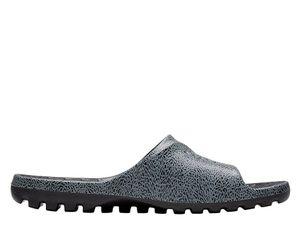 NIKE Jordan Super.Fly Badelatschen klassische Herren Badeschuhe Grau Schuhe – Bild 2