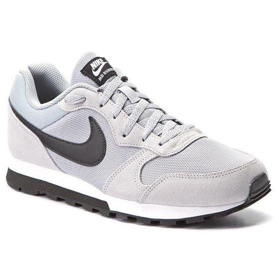 NIKE Sneaker moderne Herren Schuhe MD Runner 2 19 Grau