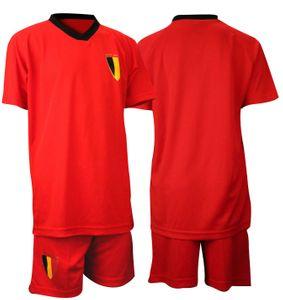 Fußballsatz Fan Rot/Schwarz