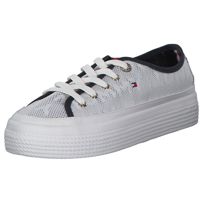 ad2c18041c31d Tommy Hilfiger Damen Sneaker Low Weiß