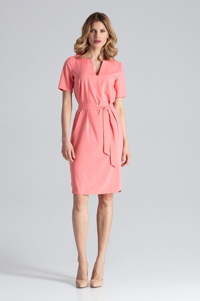 Details zu FIGL Damen Kleid Coral