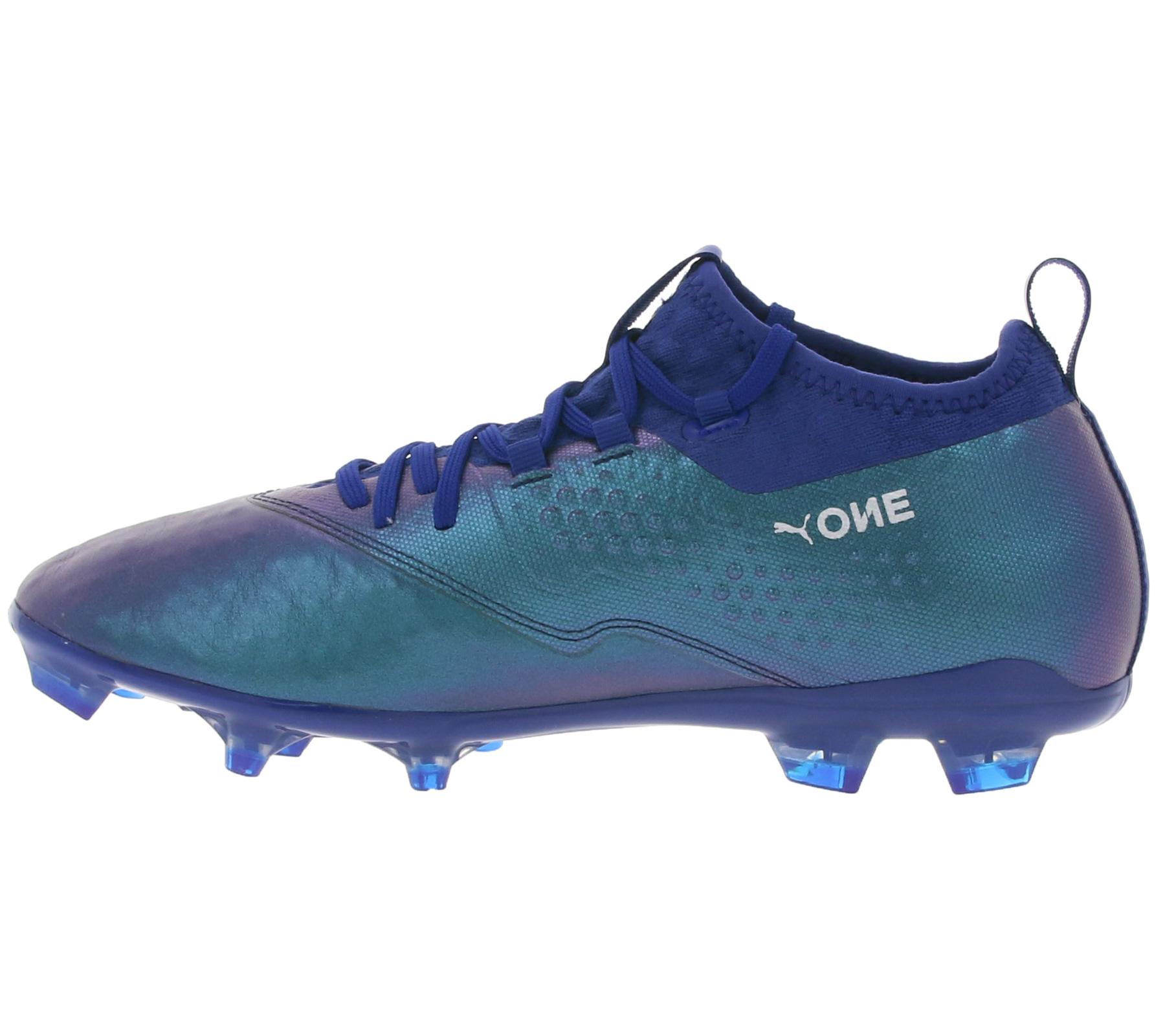 PUMA Fußballschuhe bequeme Nocken Schuhe ONE 2 Leather FG Blau