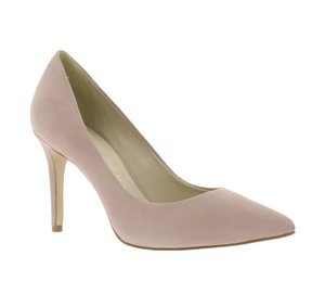 BRONX Echtleder Pumps elegante Damen High Heels Rosa – Bild 1
